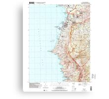 USGS TOPO Map Guam Agat 462356 2000 24000 Canvas Print