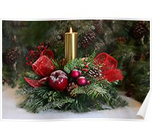 Christmas  wreath Poster