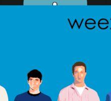 Weezer - Blue Album Sticker