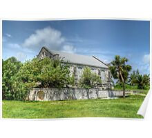 Abandoned Church on Paradise Island in The Bahamas Poster