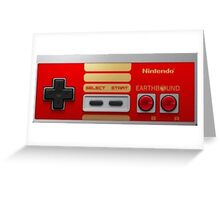 "Nintendo ""NES"" (EarthBound) Greeting Card"