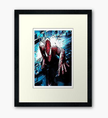 Spiderman 1 Framed Print