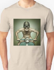Scooter Man Shirt Unisex T-Shirt