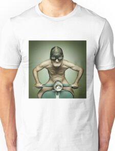 Scooter Man Shirt Unisex T-Shirt
