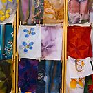 Silk Scarves, Street Market by fg-ottico