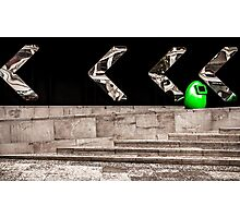 Follow the Arrows. Photographic Print