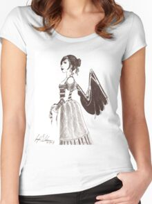 Clockwork Angel Women's Fitted Scoop T-Shirt