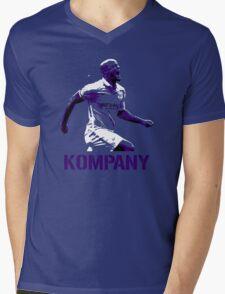 Vincent Kompany Manchester City Mens V-Neck T-Shirt