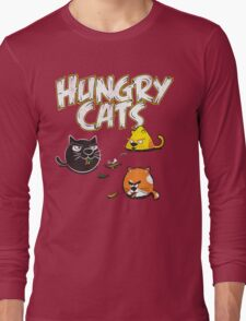 Hungry Cats Long Sleeve T-Shirt