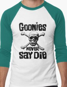 The Goonies - GOONIES NEVER SAY DIE T Shirt Men's Baseball ¾ T-Shirt