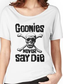 The Goonies - GOONIES NEVER SAY DIE T Shirt Women's Relaxed Fit T-Shirt