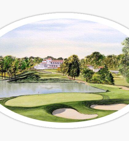 Congressional Golf Course Sticker