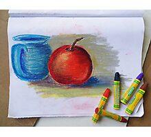 Petit Exercice En Pastel L'huile Photographic Print