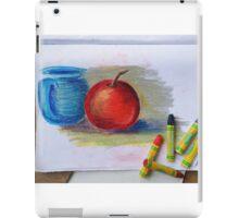 Petit Exercice En Pastel L'huile iPad Case/Skin