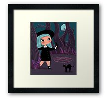 Lil' Witch Framed Print