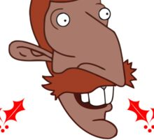 Nigel Thornberry Christmas Sticker