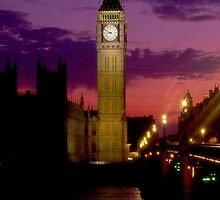 London Clock Tower iPhone 4/4s case by Jnhamilt