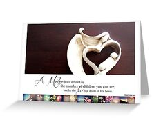 May 2013 - Lost for Words Calendar Greeting Card