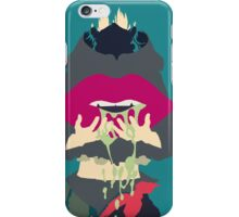 Aoba + Gas Mask iPhone Case/Skin