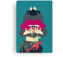 Aoba + Gas Mask Canvas Print