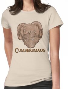 Cumbersmaug (Sepia)  Womens Fitted T-Shirt
