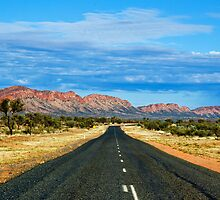 West MacDonnell Ranges by Dilshara Hill