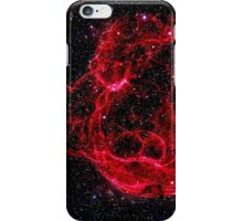 Red Nebula iPhone Case/Skin