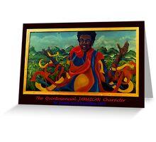 JAMAICAN SPIRIT * Greeting Card