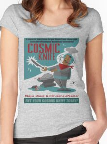 Cosmic Knife Women's Fitted Scoop T-Shirt