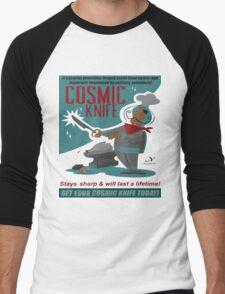 Cosmic Knife Men's Baseball ¾ T-Shirt