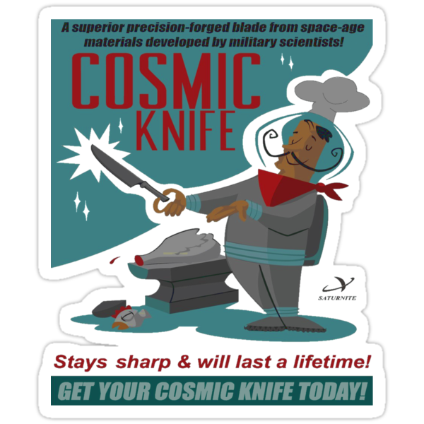 Cosmic Knife by Marconi Rebus