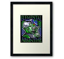 Elemental Absinthe Framed Print