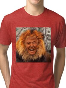 Trump Lion Tri-blend T-Shirt