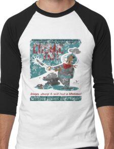 Cosmic Knife [Distressed] Men's Baseball ¾ T-Shirt