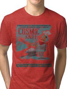 Cosmic Knife [Distressed] Tri-blend T-Shirt