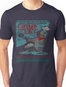 Cosmic Knife [Distressed] Unisex T-Shirt