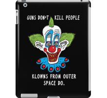 Killer Klowns Kill People iPad Case/Skin
