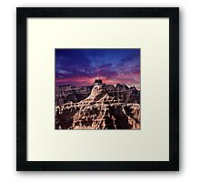 Sunrise over Badlands National Park .7 Framed Print