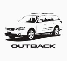 Subaru Outback 2004 T-Shirt