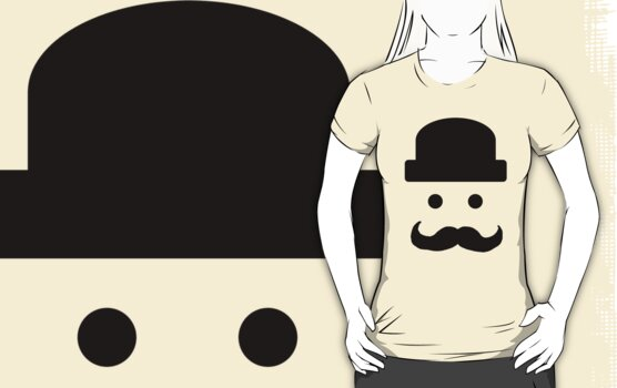 Bowler Hat & Tash by cucumberpatchx