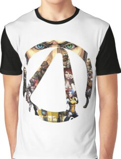 Borderlands - Characters and Vault Graphic T-Shirt