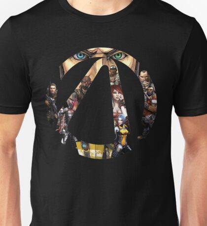 Borderlands - Characters and Vault Unisex T-Shirt