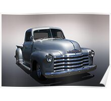 Vintage Chevy Pickup Poster