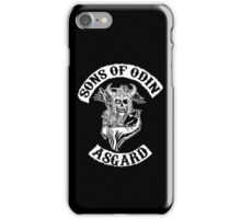 Sons Of Odin - Asgard Chapter iPhone Case/Skin