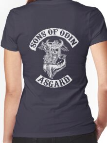 Sons Of Odin - Asgard Chapter Women's Fitted V-Neck T-Shirt