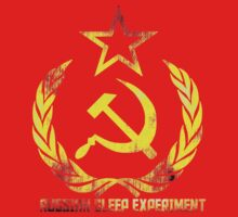Russian Sleep Experiment T-Shirt