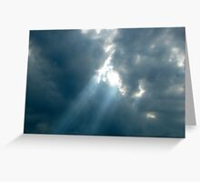 Light Among the Darkness Greeting Card