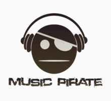 music pirate (black version) by saviorum
