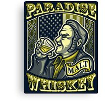 Paradise Whiskey Canvas Print