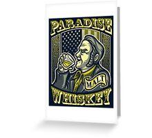 Paradise Whiskey Greeting Card